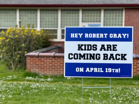 Students Return to Hillsdale Schools