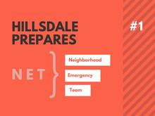 Hillsdale NET Emergency Preparedness, Part 1: Home Inventory
