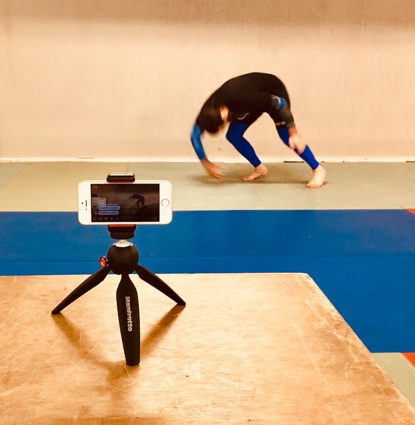 martial arts coach livestreaming