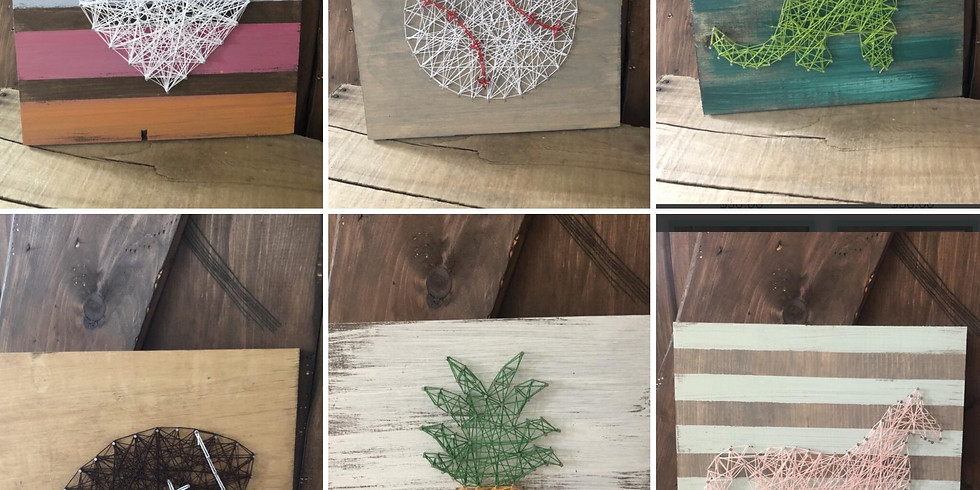 Kids' Night Out- String Art w/ The Wooden Loft