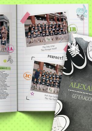 Anuario Colegio Alexander Bain