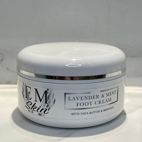 Calming Foot Cream with Lavender & Mint