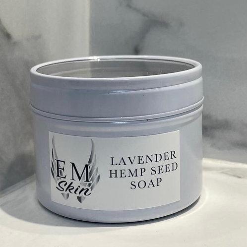 Lavender & Hemp Oil Soap Bar