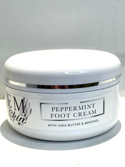 Cooling Foot Cream With Peppermint