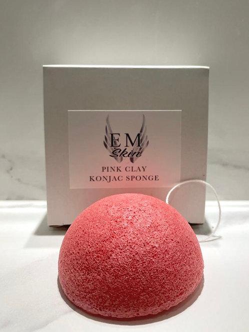 Pink Clay Konjac Facial Sponge