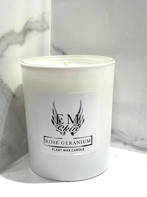 Serenity Rose Geranium Room Candle