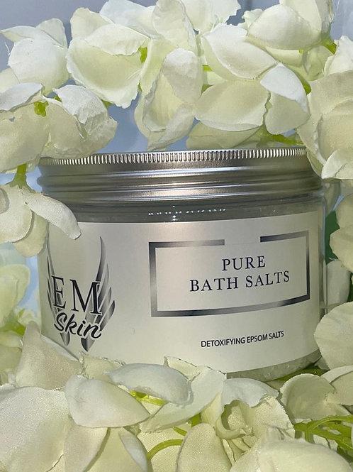 Pure Detox Bath Salts Fragrance Free