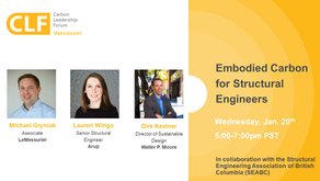 Jan 20 - Embodied Carbon for Structural Engineers