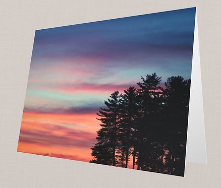 Sebago Sunrise Note Card