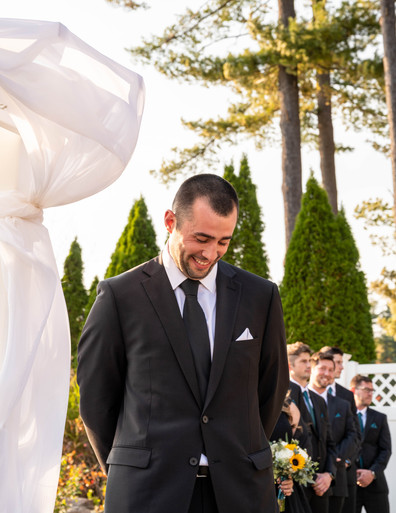 Mike | Groom's First Look