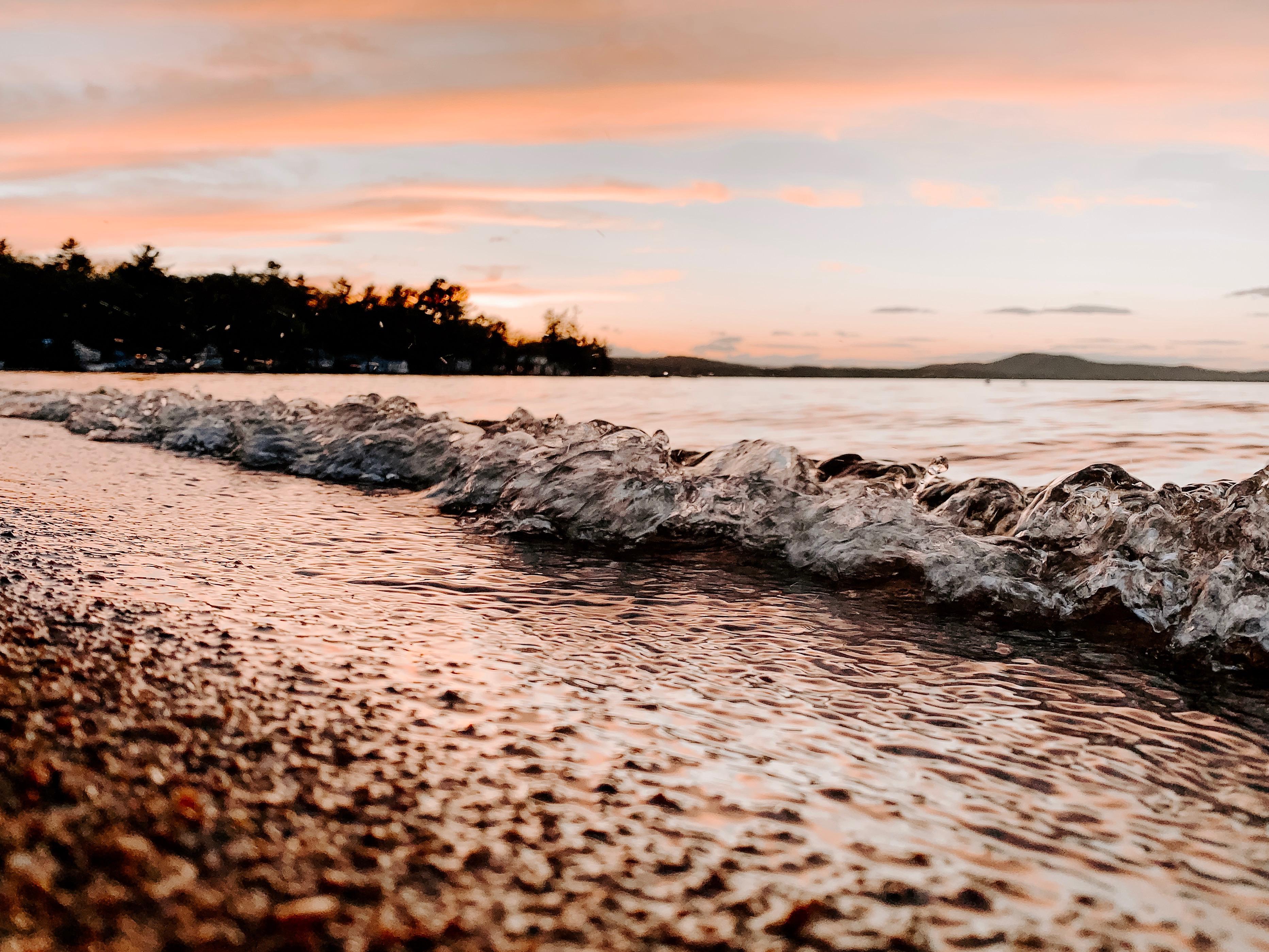 Waves Crashing | Sebago Lake, ME
