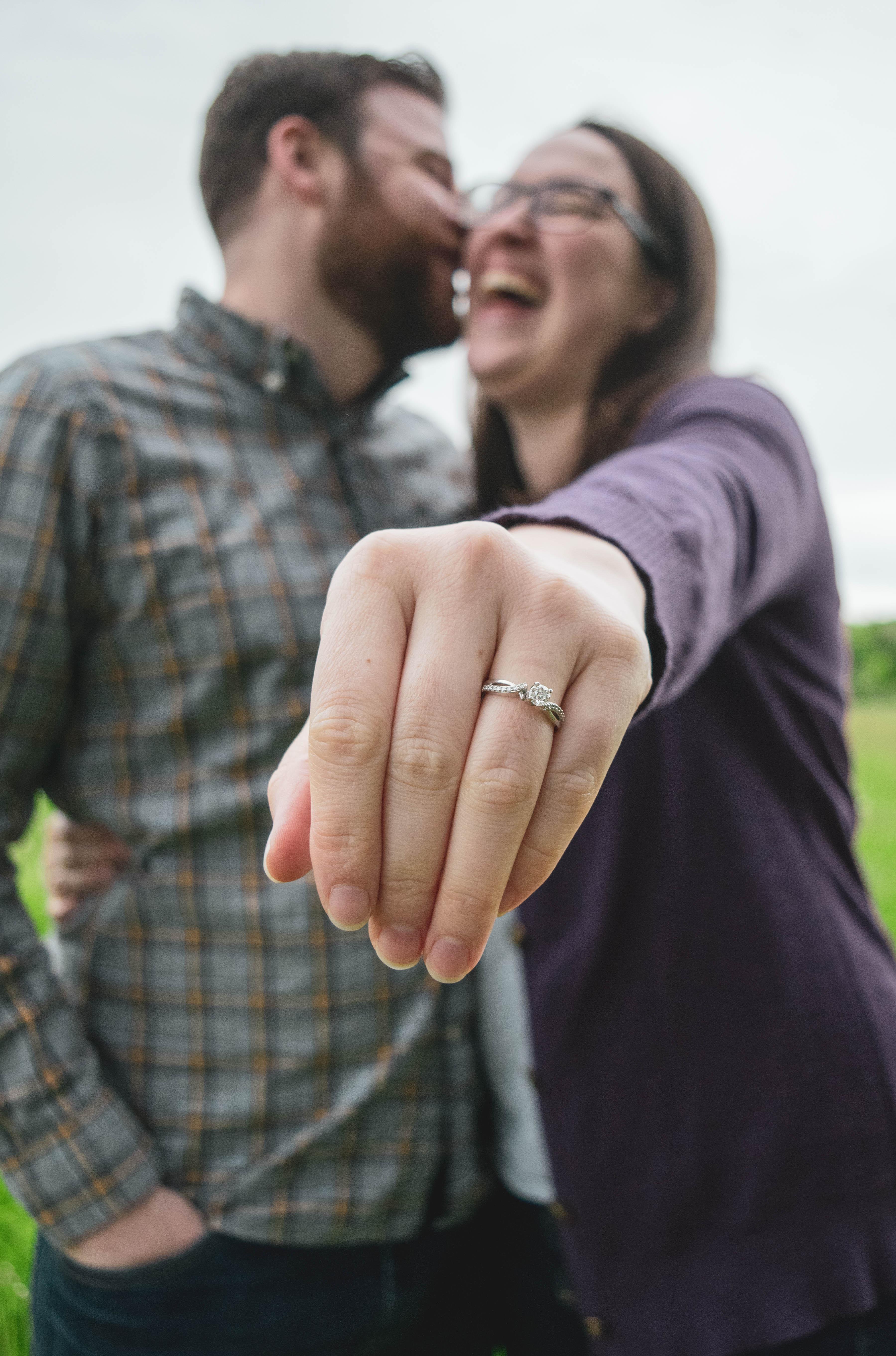 Love Laugh | Maine Engagement