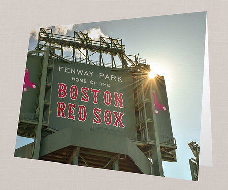 Fenway Park Note Card