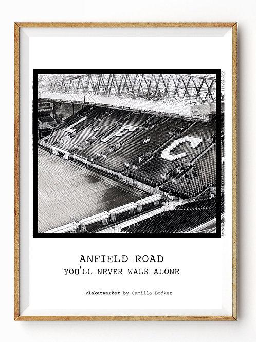 Anfield Road You`ll never walk alone / En hyldest