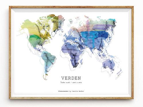Verden rundt / Verden / Multi Color