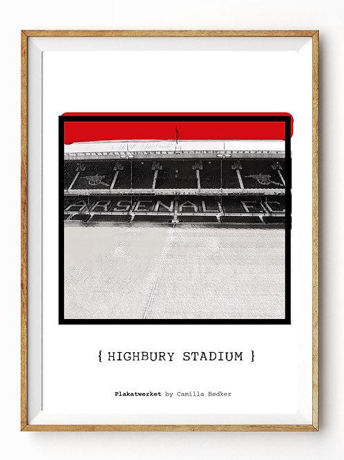 Highbury Stadium red / En hyldest