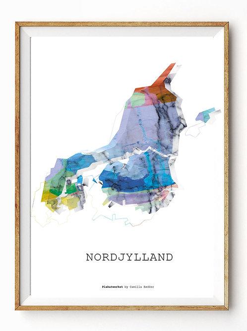 Landet rundt / Nordjylland kort / Multi