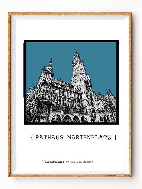 MÜNCHEN / En hyldest / RATHAUS MARIENPLPATZ