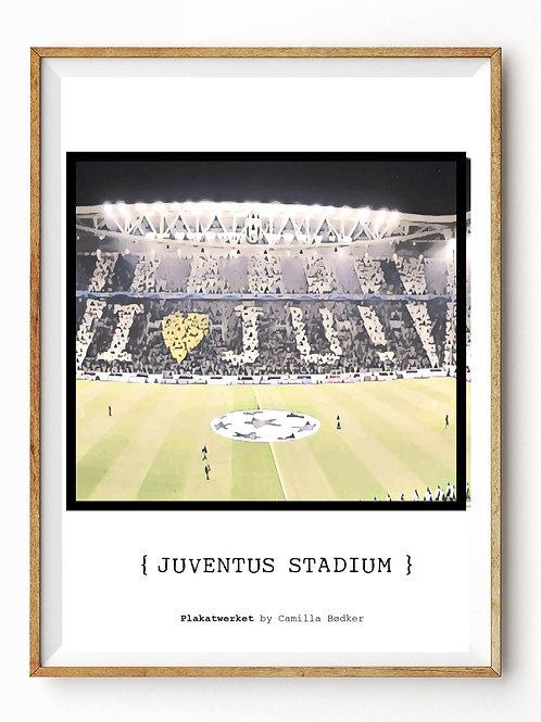 Juventus Fodboldplakat
