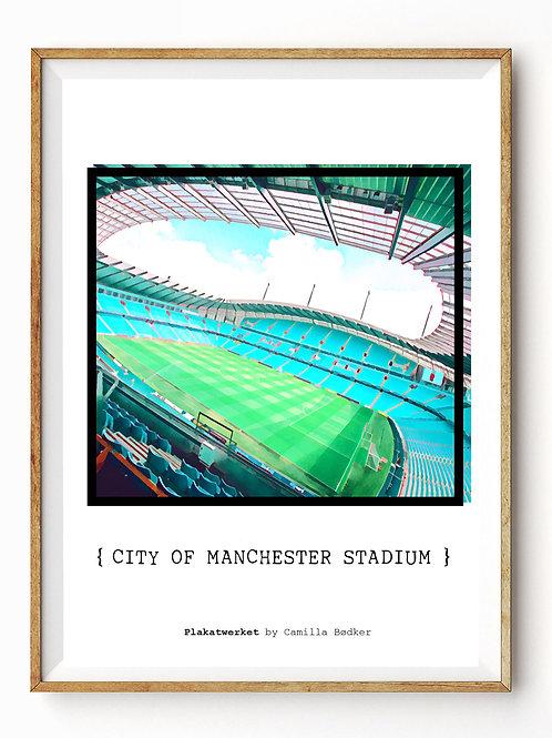 City of Manchester stadium color / En hyldest