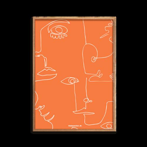 One-Line / Combined strokes, Mr. Orange