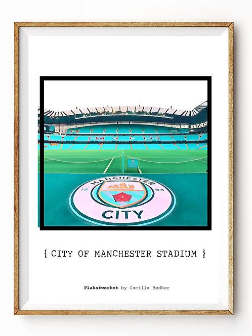 City of Manchester stadium color 2 / En hyldest