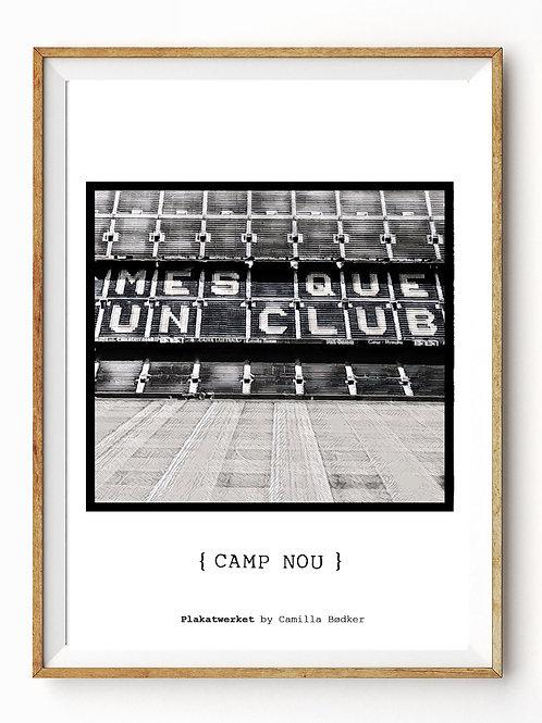 Camp Nou grey / En hyldest