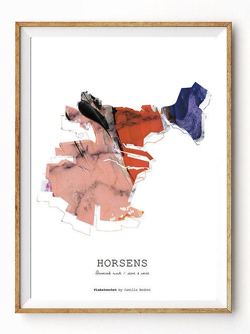 Landet rundt / Horsens kort / Red