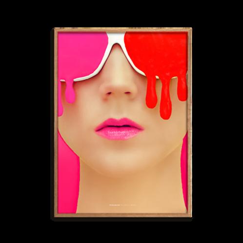 Dyed Makeup, Pink
