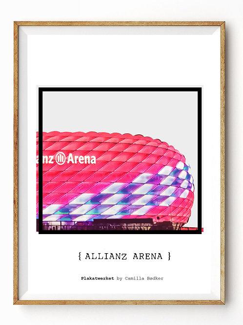Allianz Arena outside / En hyldest