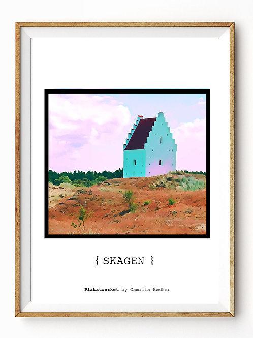 LOVELY DENMARK / SKAGEN, Den tilsandede kirke