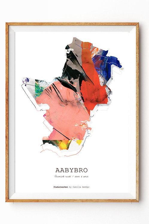 Landet rundt / Aabybro kort / Red