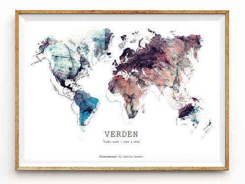 Verden rundt / Verden / Kontast Color