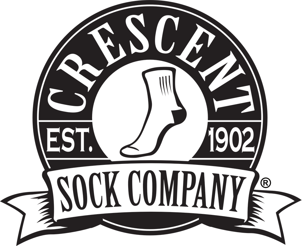 crescent sock company logo banner image