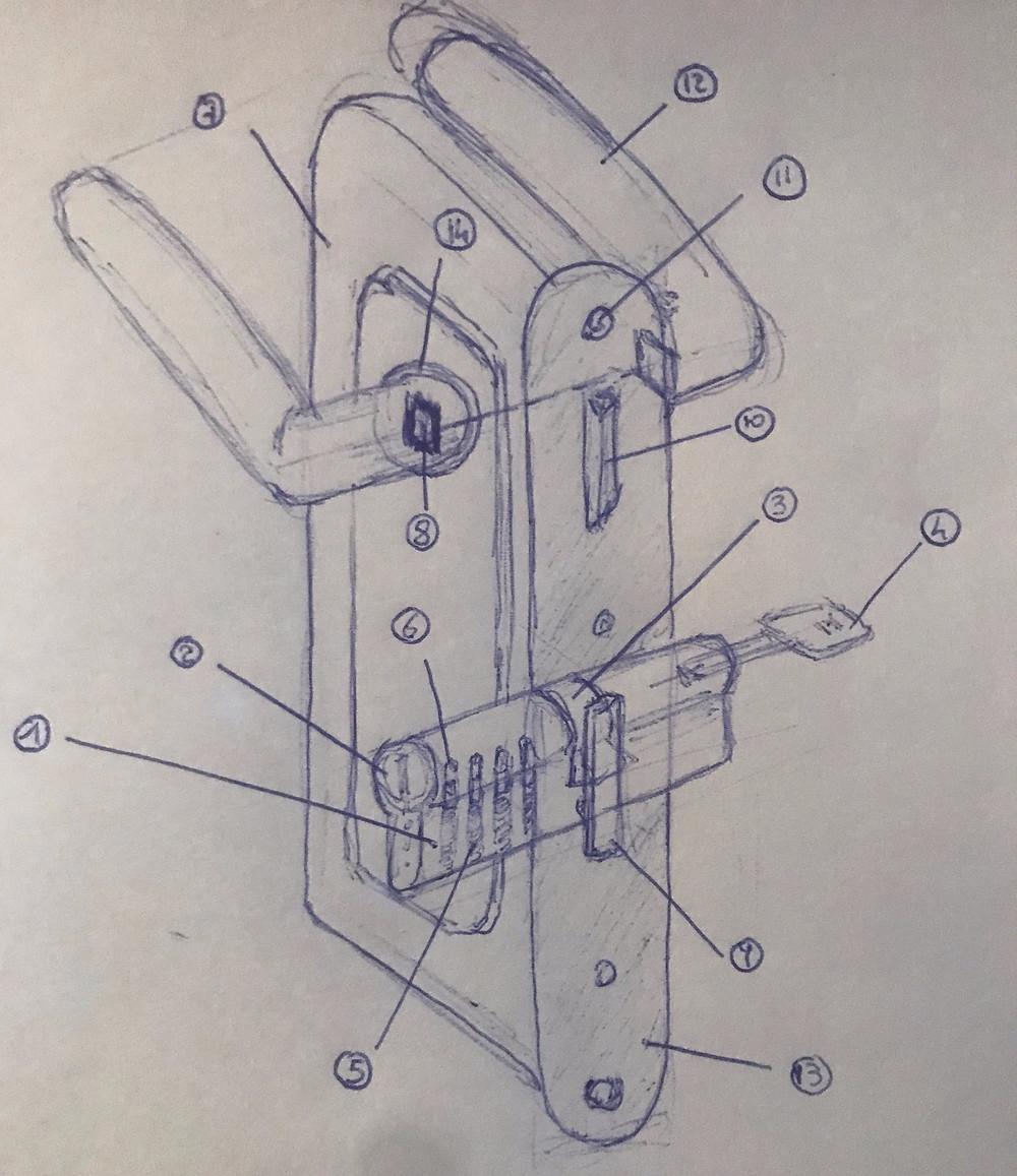 index serrure, cylindre, la cle sous la porte, paris 5