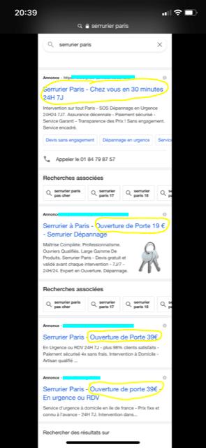 annonce-google-serrurier-paris