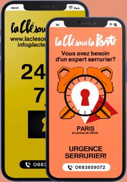 telephone serrurier paris depannage