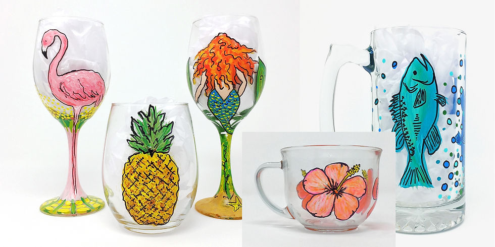 Designs in Drinkware - Paint Your Glasses