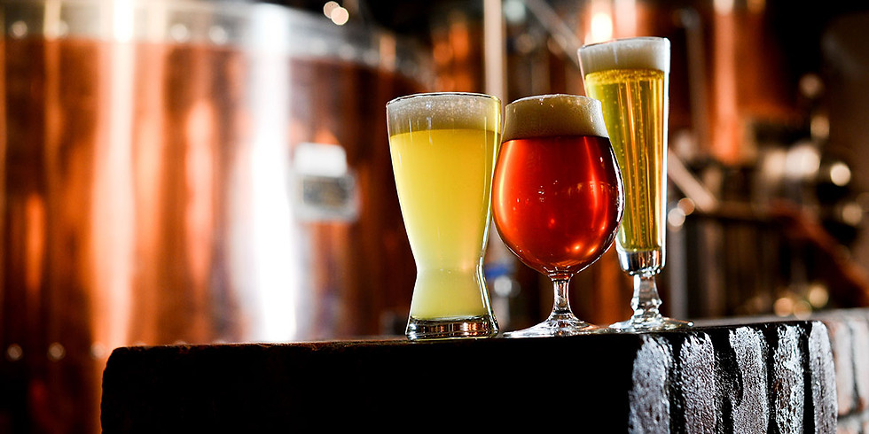 Craft beer walk today - chilled beer, live music and great food!