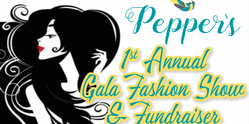 Gala fashion show and fundraiser with Pepper's Boutique