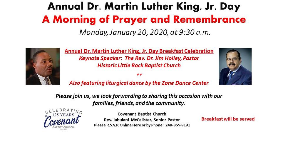 Dr. Martin L. King Jr. Day Celebration