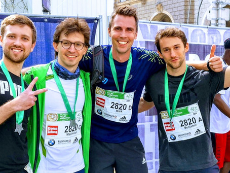 Novasign at the Vienna City Marathon 2019