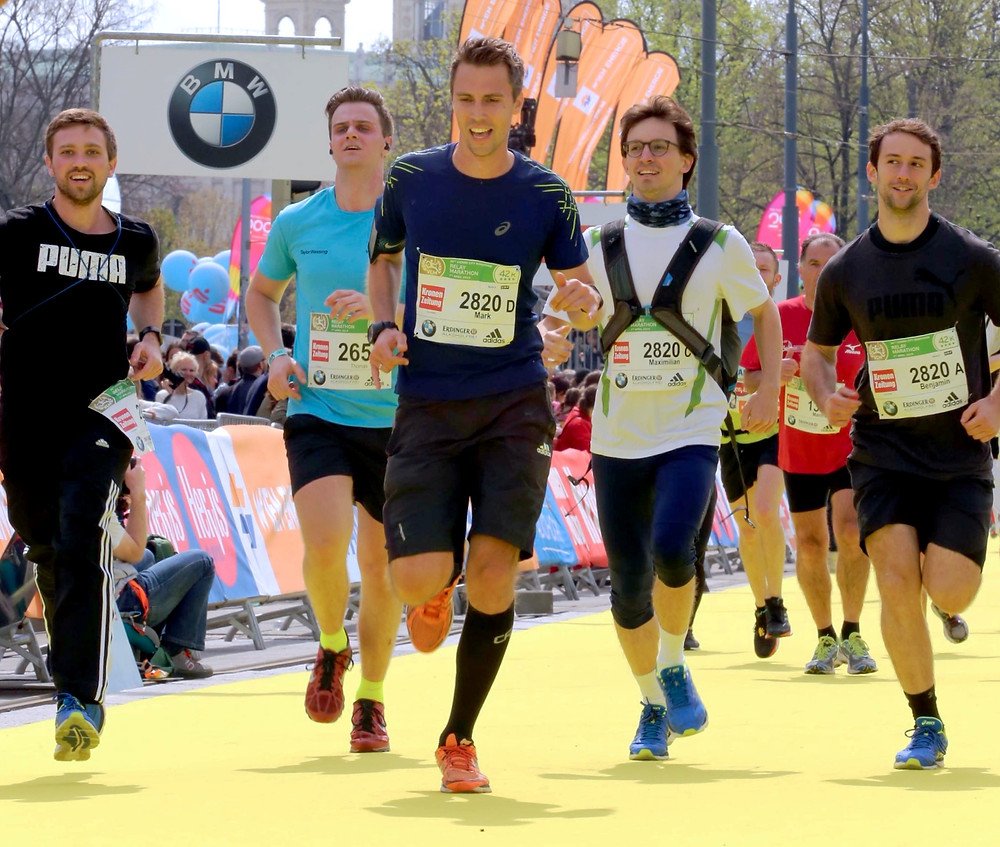 Novasign shows Teamwork at the Vienna City Marathon (VCM) 2019