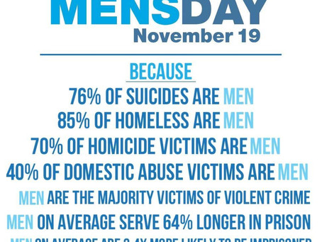 Why is there an International Day for Men?