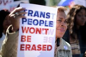 Did Trump Erase Transgendered people?