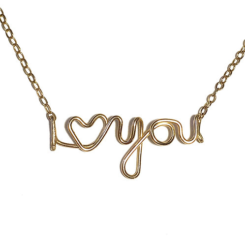 "I ""Heart"" You Necklace"