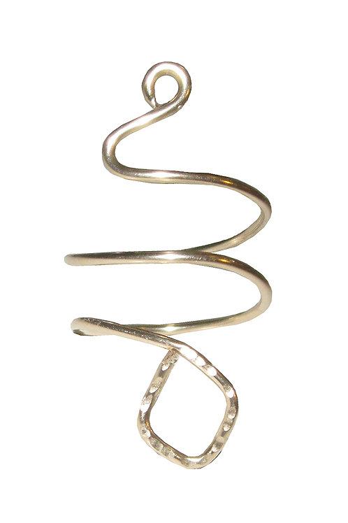 Winding Snake Ring