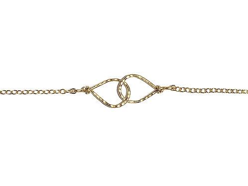 Infinity Teardrops Bracelet
