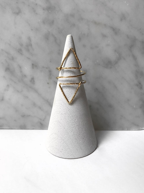 Triangle Wrap Ring