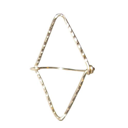 Large Open Diamond Ring